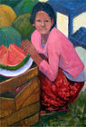 water-mellon girl